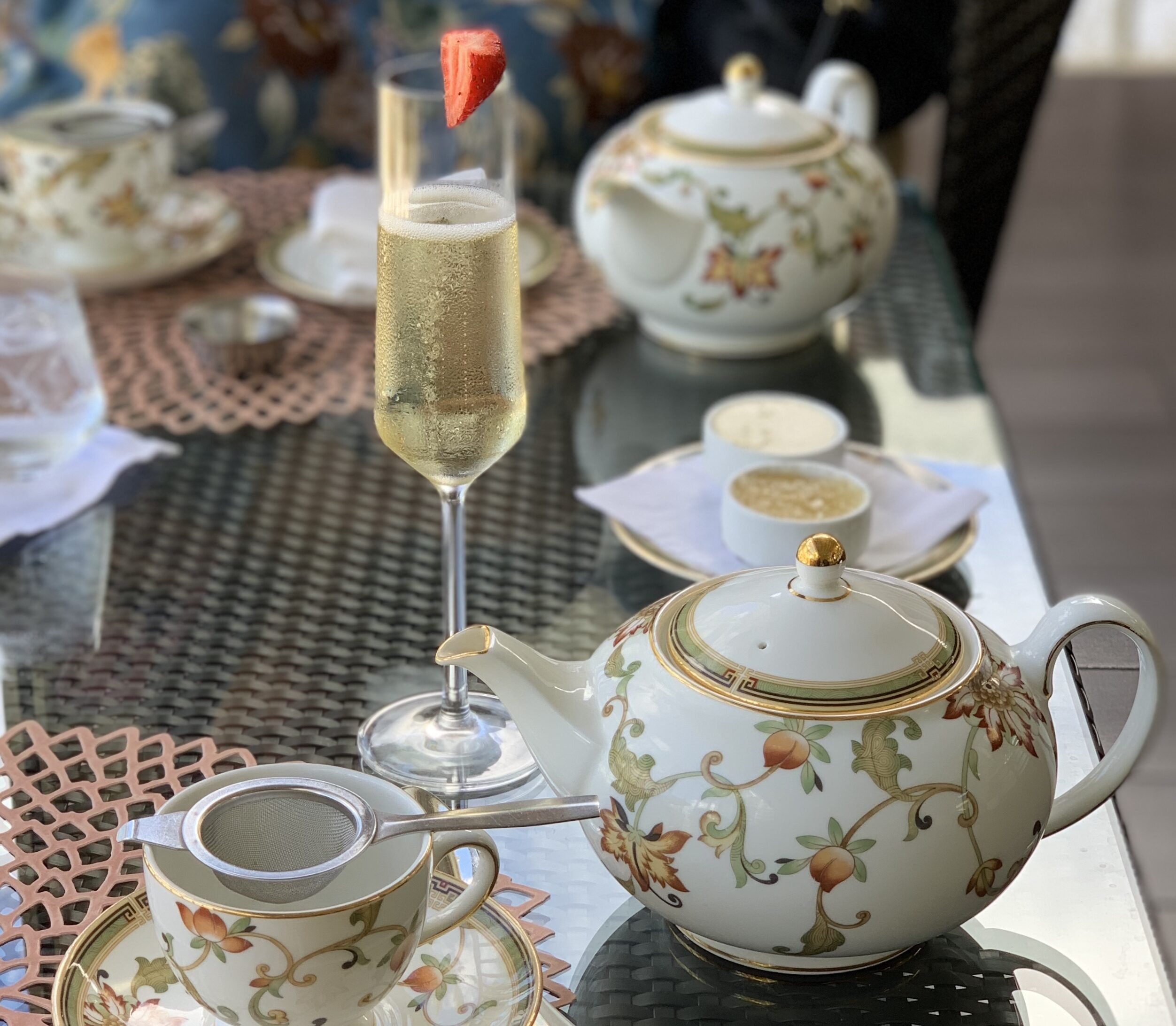 Champagne Afternoon Tea in Hawaii