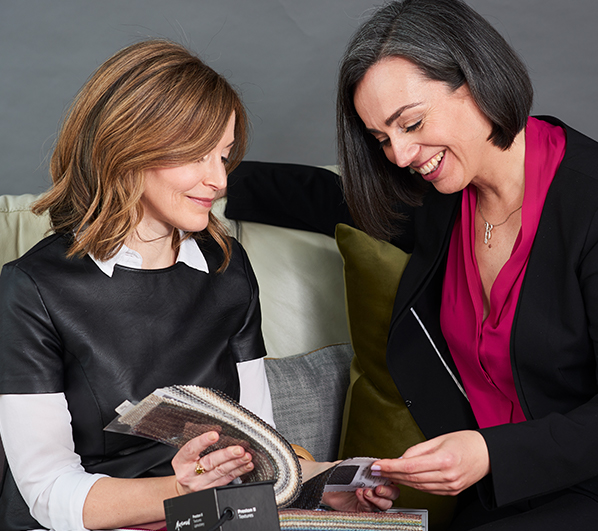Julie Taylor consulting with a client