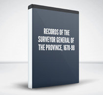 Records of the Surveyor General of the Province, 1678-98
