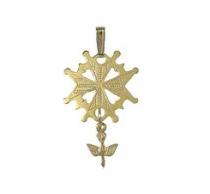 Large Huguenot Cross