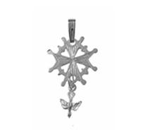 Small Huguenot Cross