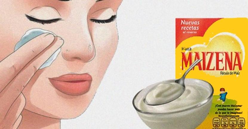Mascarillas de maicena con efecto botox a los 30 y 40