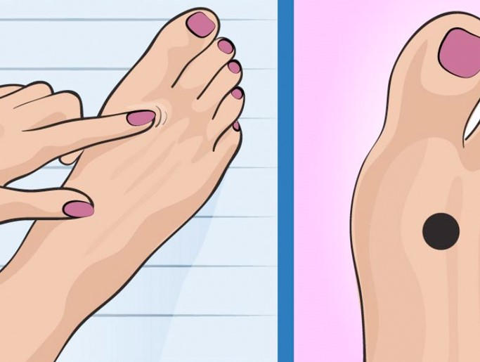 Si presionas este punto de tu pie antes de ir a la cama, sucederá algo tan inesperado como deseado