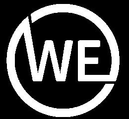 WE logo