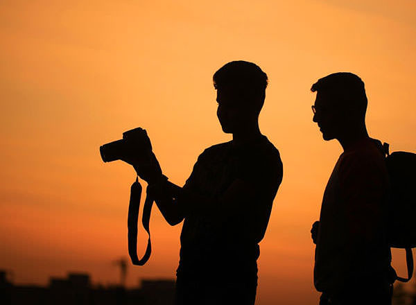 Image of our photographer on your Sydney Private Tour