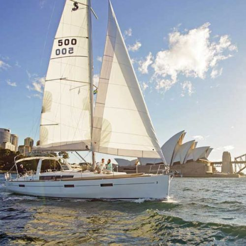 In image of an afternoon on a private yacht on your Sydney Day Tour