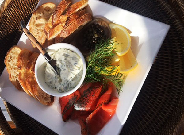 Gourmet food platter on Sydney Harbour onboard The Count during your private sunset sailing cruise experience