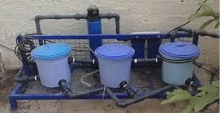 معالجة مياه الصرف الصحي المنزلي