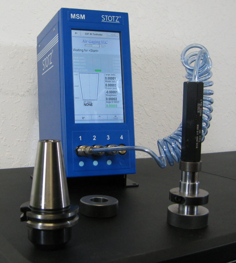 Stotz MSM with CAT taper gage
