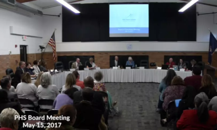 Port Huron Schools – Board Meeting – May 15, 2017