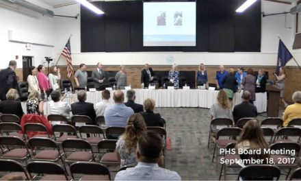 PHS Board Meeting – Sept 18 2017