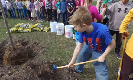 Arbor Day at Cleveland Elementary