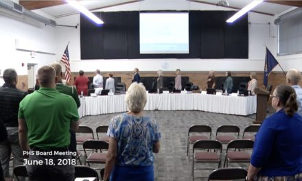 Board of Education Meeting – June 18, 2018