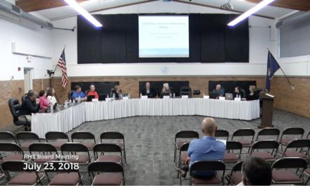 Board of Education Meeting – July 23, 2018