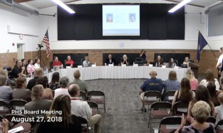August 27, 2018 PHS Board of Education Meeting