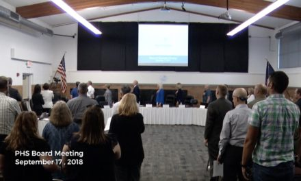 PHS Board of Education Meeting – September 17, 2018