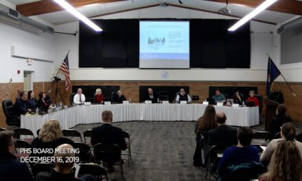 Board of Education Meeting – December 16, 2019