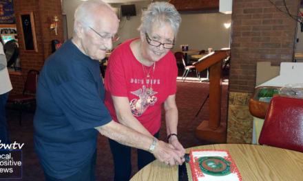 Local Marines Celebrate Milestone Birthday Ahead of Veteran's Day