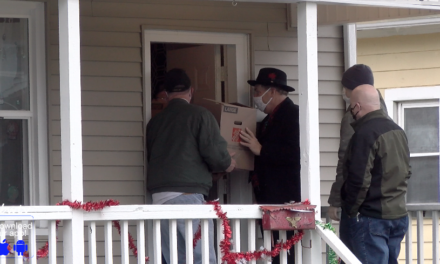 Christmas Arrives at Doorsteps of 12 Local Families