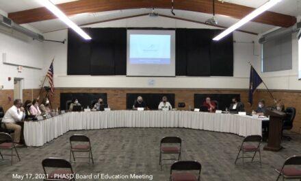 May 17, 2021 – PHASD Board of Education Regular Meeting