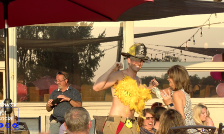 First Responders in Bras Strut Runway to Fight Cancer