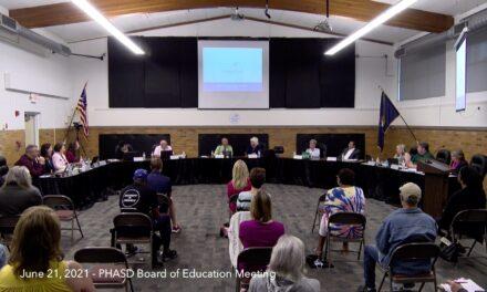 June 21, 2021 – PHASD Board of Education Meeting