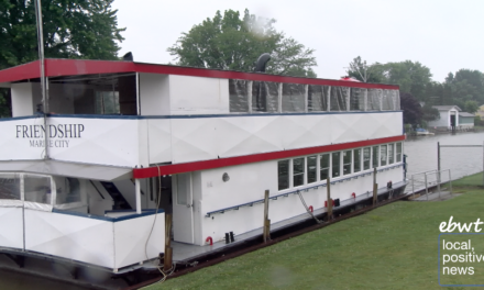 Marine City Riverboat Embarks on First Voyage