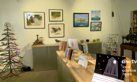 A Look Inside Marine City's New Art Gallery