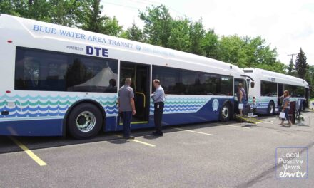 Blue Water Area Transit debuts two electric buses