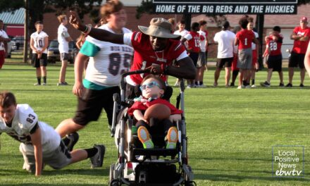 People with special needs, high school athletes team up for 'Victory Day'