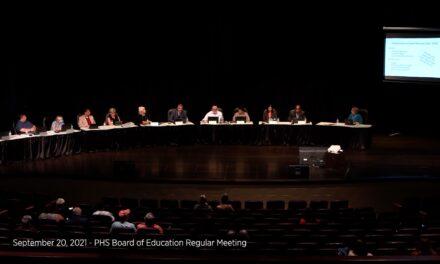 September 20, 2021 – Port Huron Schools Board of Education Regular Meeting