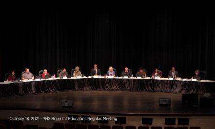 October 18, 2021 – Port Huron Schools Board of Education Regular Meeting