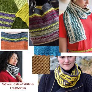 Woven Sl st patterns