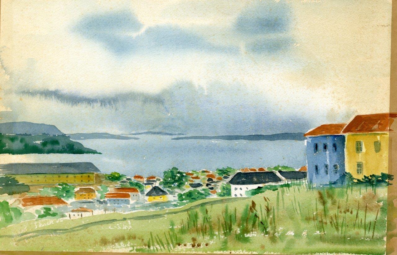 Overlook painting