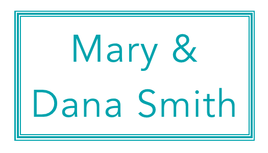 Mary & Dana Smith