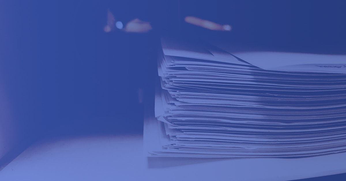 Reducción uso papel
