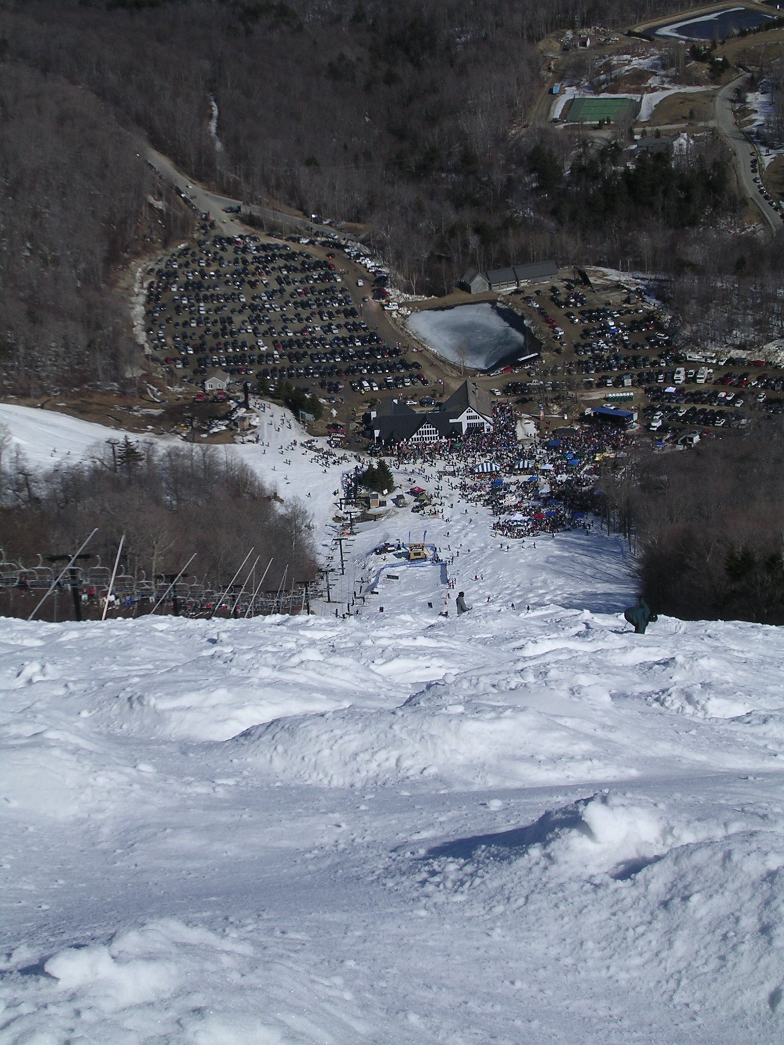 Skiing Outer Limits with Blue Oyster Cult concert at Killington