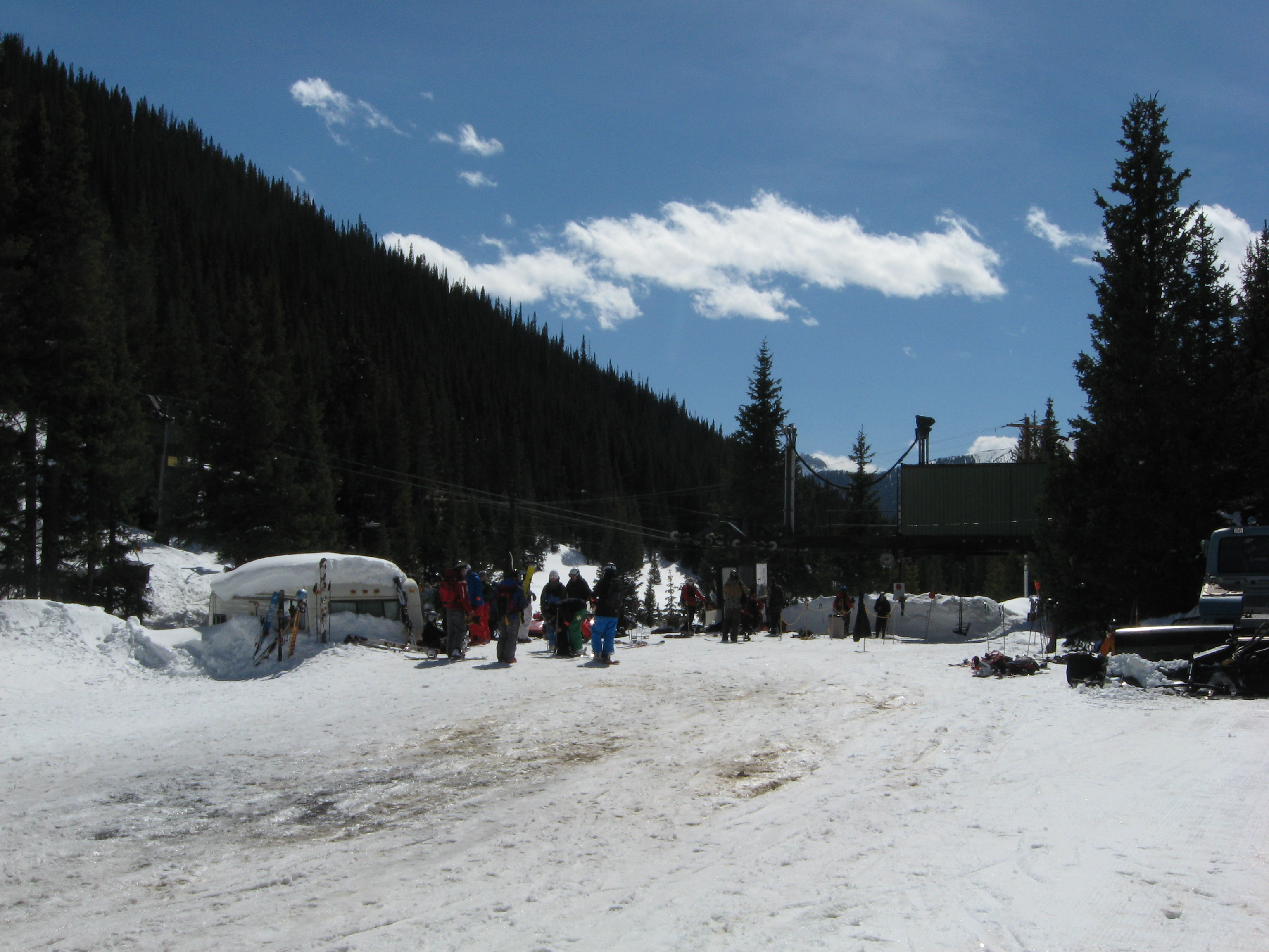 Silverton Mountain chairlift