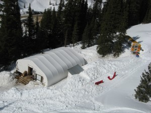 Silverton Mountain base lodge