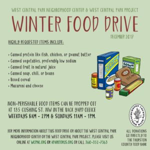 Winter Food Drive   WCPNC