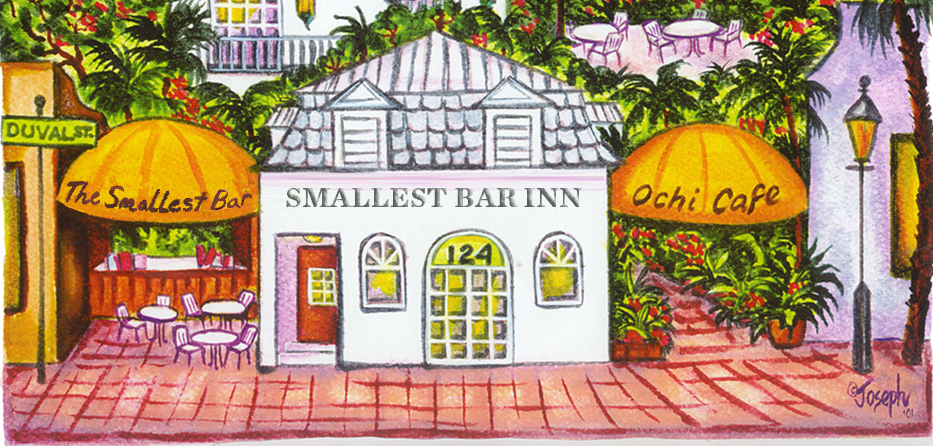 key west hotel smallest bar inn