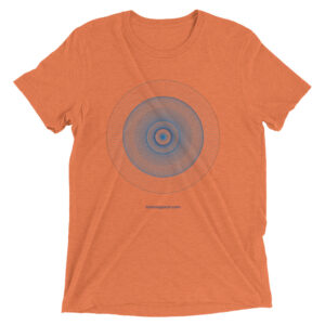 Third Eye Chakra – Unisex Tri-Blend T-Shirt