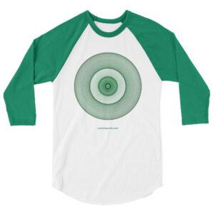 Heart Chakra – Unisex 3/4 sleeve Raglan Shirt