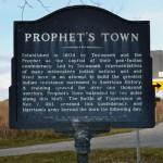 Prophet's Town Historical Marker