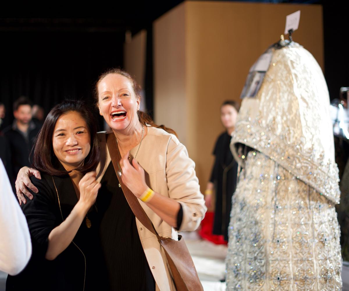Pietra with Guo Pei