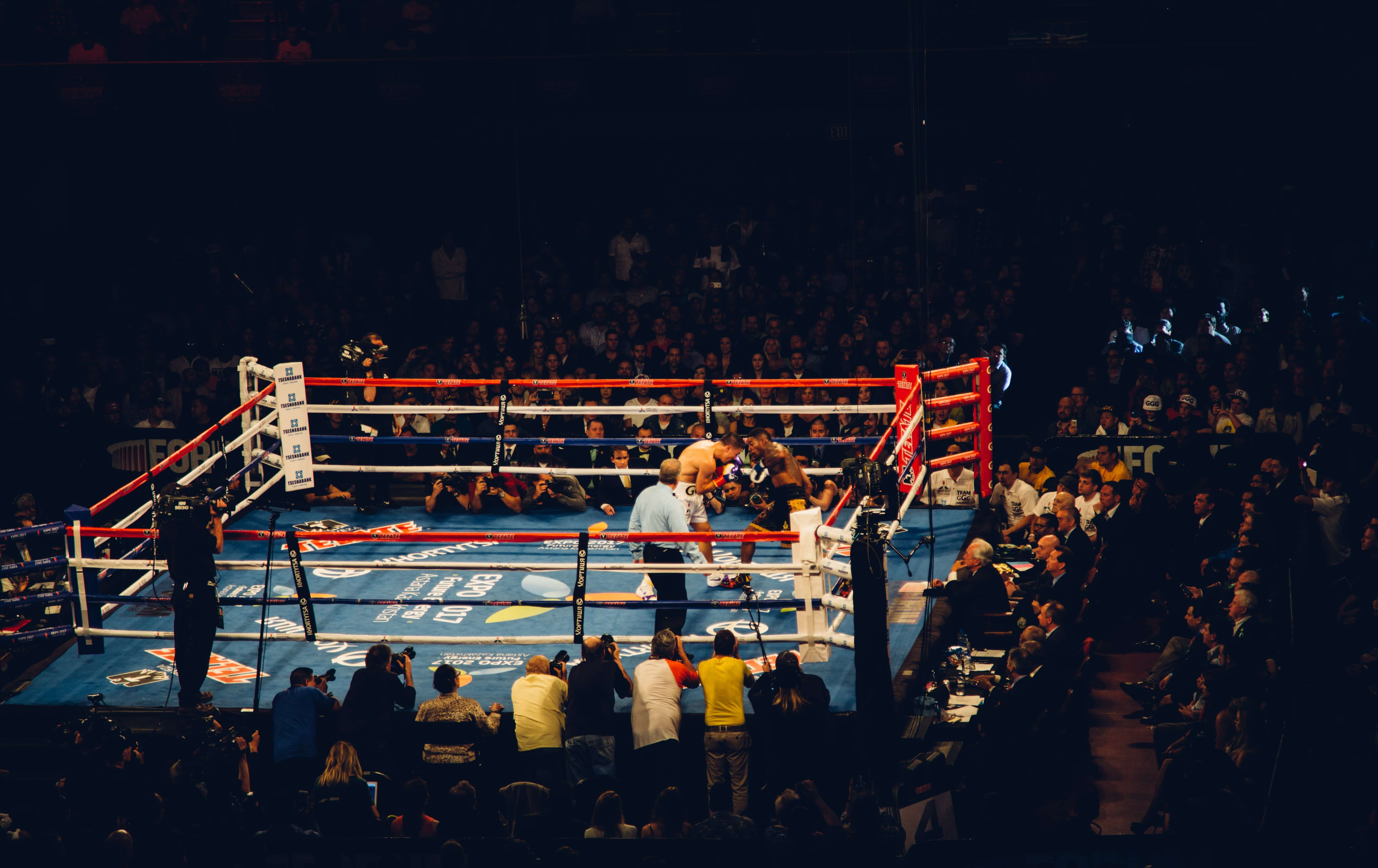 Your greatest enemy will help you find your purpose - boxing image