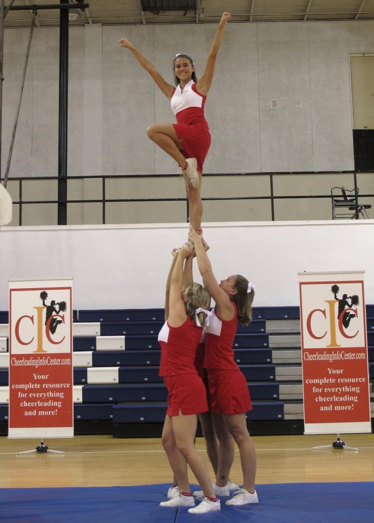 How to do Cheerleading Stunts