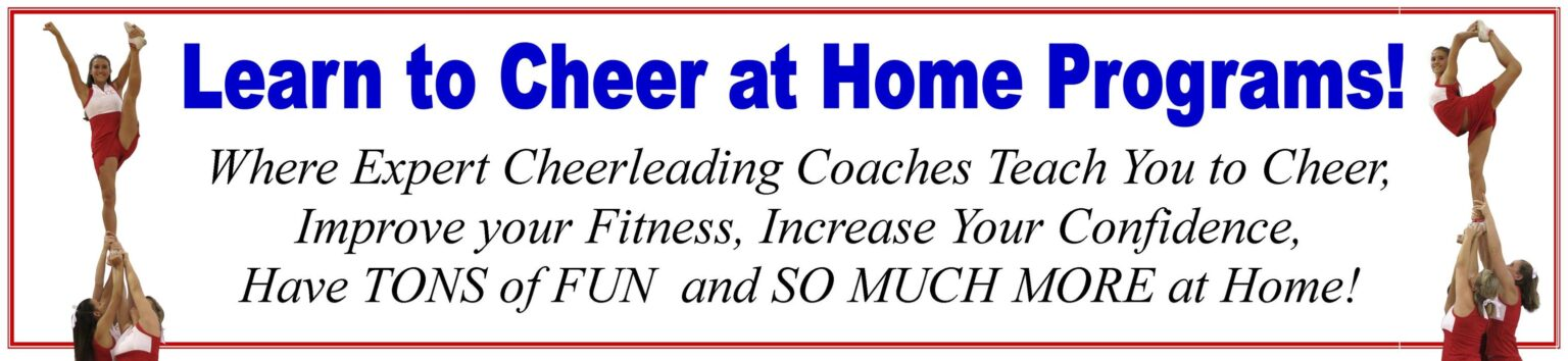 Learn to Cheer at Home Programs!