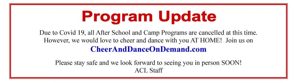 Cheer and Dance on Demand