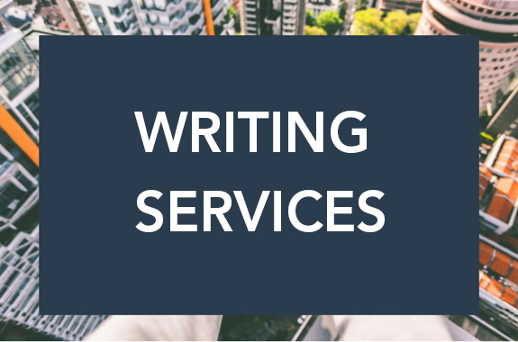 Writing Services Header image